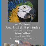 Vernissage: Ana Isabel Hernández