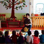 Taller infantil de percusión en español – 3 a 6 años